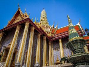 Wat Phra Kaew - Bezienswaardigheden Thailand