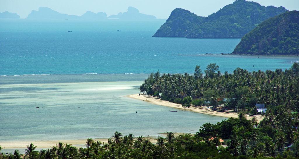Koh Phangan Eiland Thailand