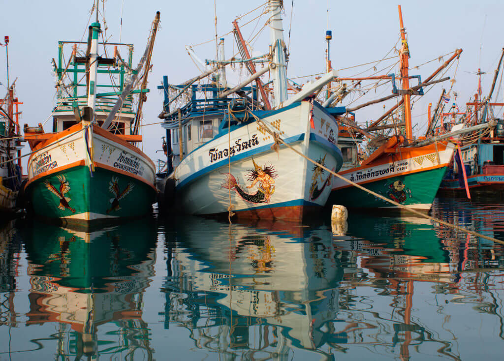 Vissersboten Koh Phangan