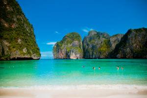 Maya Bay Beach - Stranden Thailand