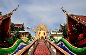 Bezienswaardigheden Koh Samui - Wat Phra Yai