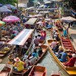Drijvende markten Bangkok - Damnoen Saduak