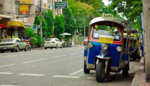 Openbaar vervoer Bangkok - Tuk tuk