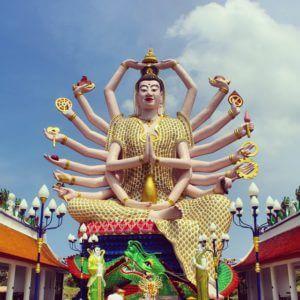Wat Plai Laem - Koh Samui