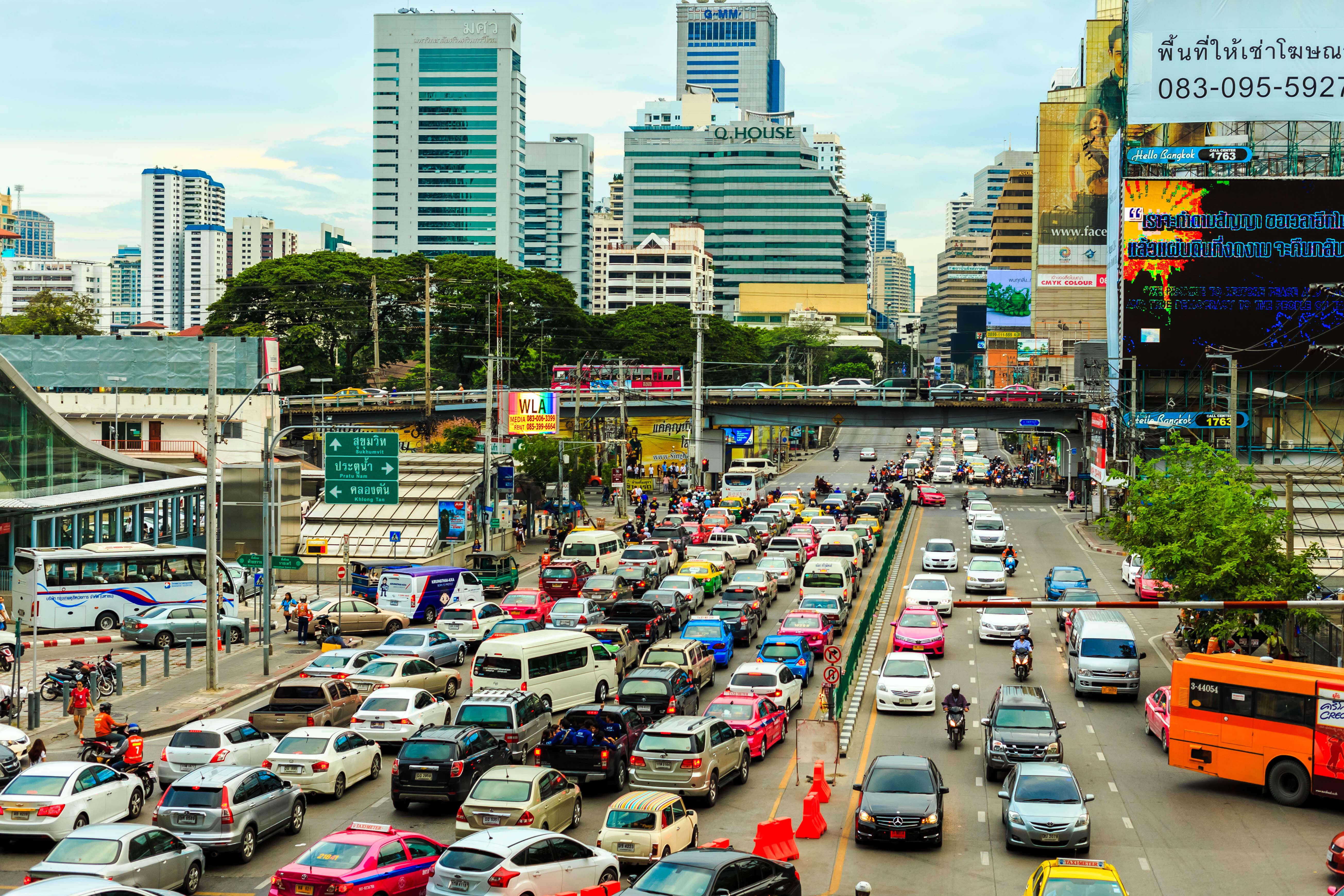 Auto rijden in Thailand