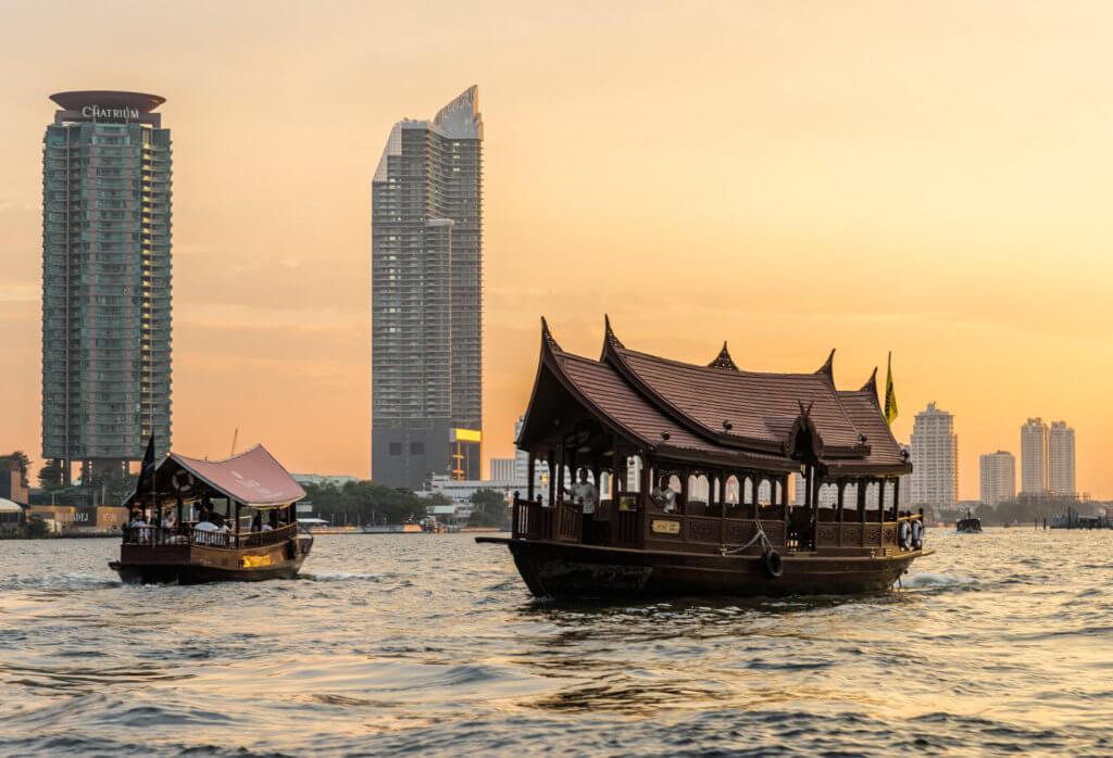 Stedentrip of vakantie naar Bangkok in Thailand