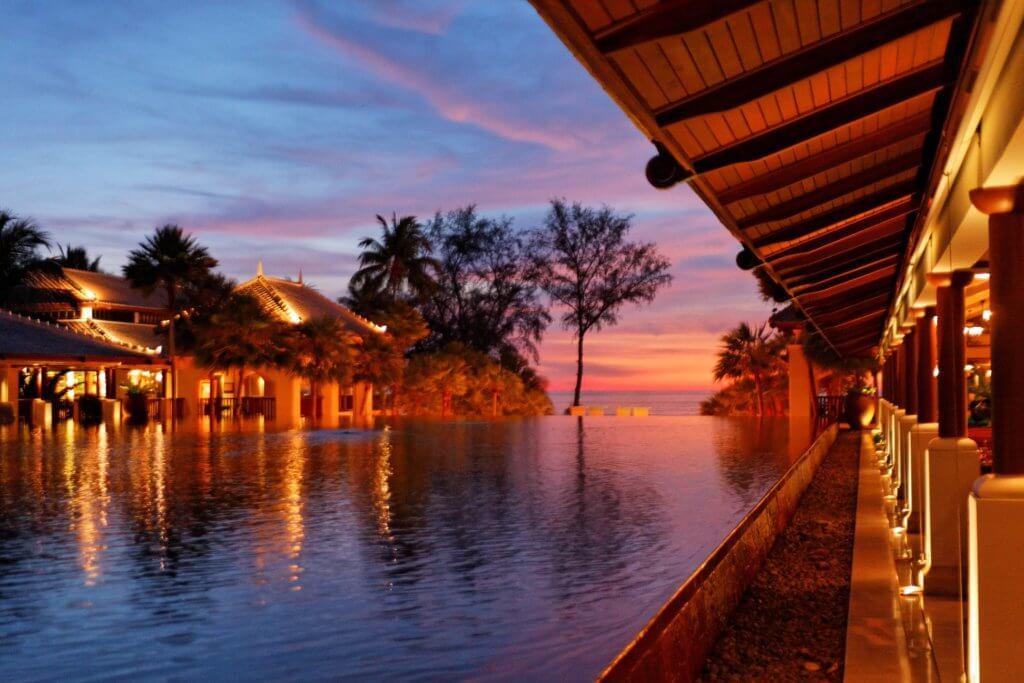 zonsondergang phuket