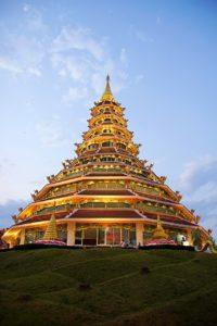 Tempel Chiang Rai Thailand